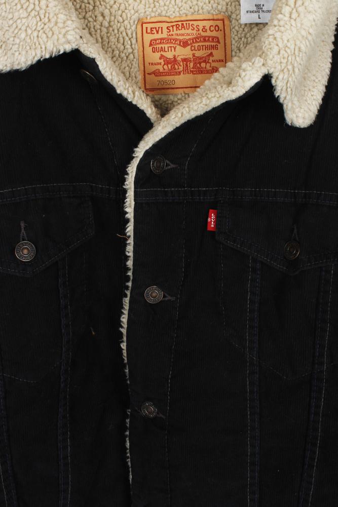 Levi/'s Men/'s Sherpa Lined Trucker Jacket