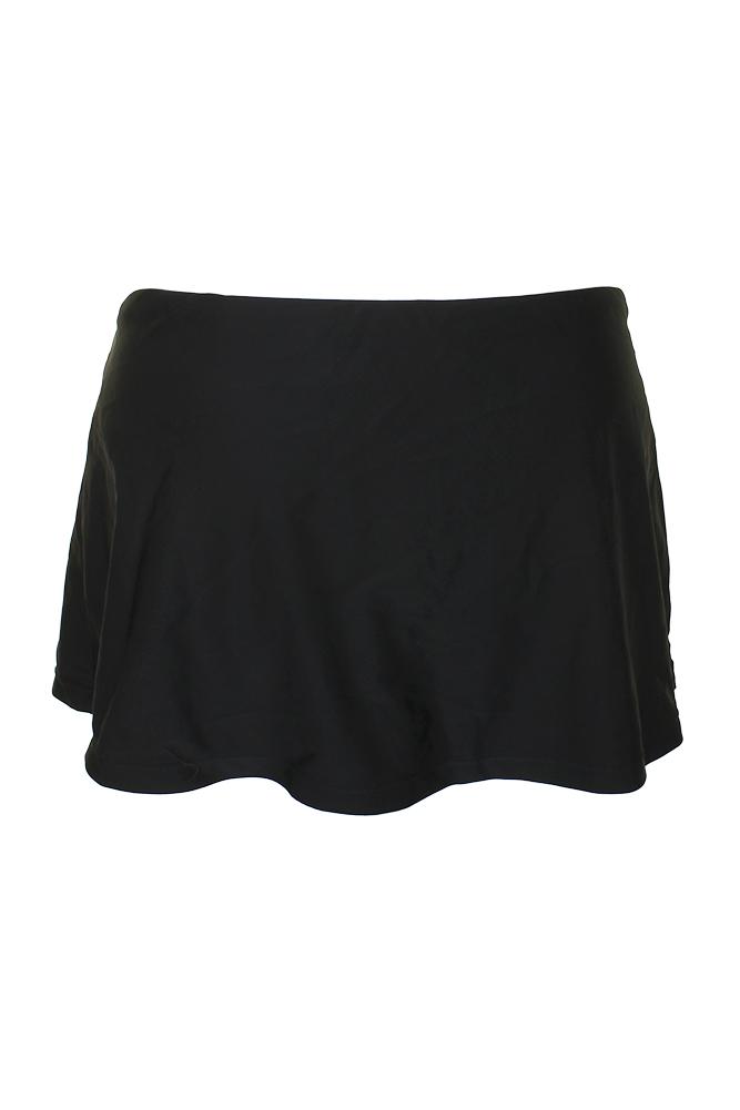 2244f4b16a Island Escape Black La Palma High-Waist Pencil Swim Skirt 13 ...