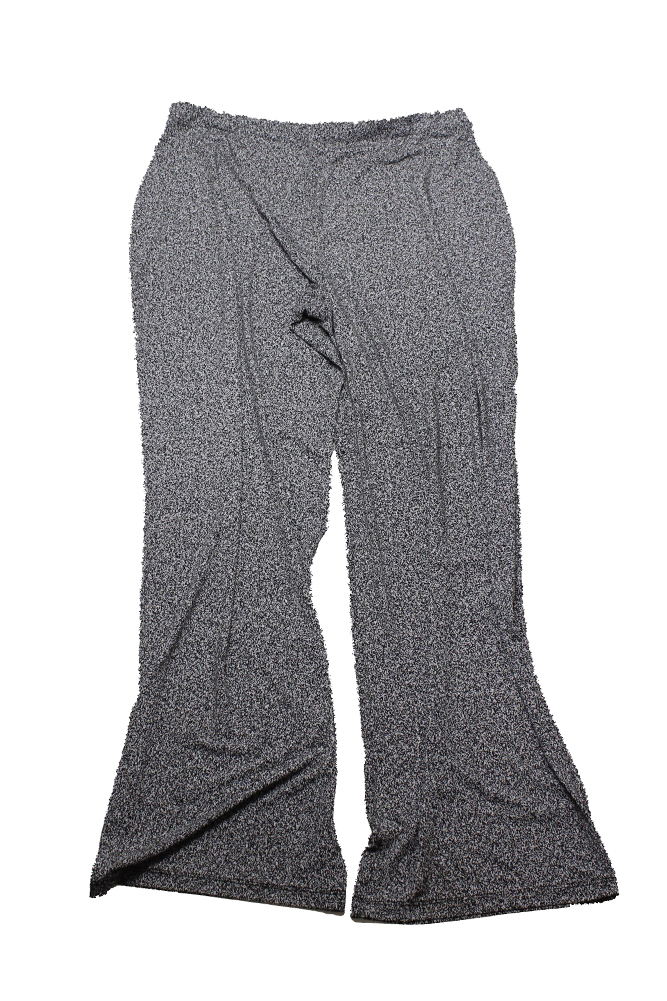 02eb0904568 Alfani Plus Size Black White Printed Wide-Leg Pants 0X