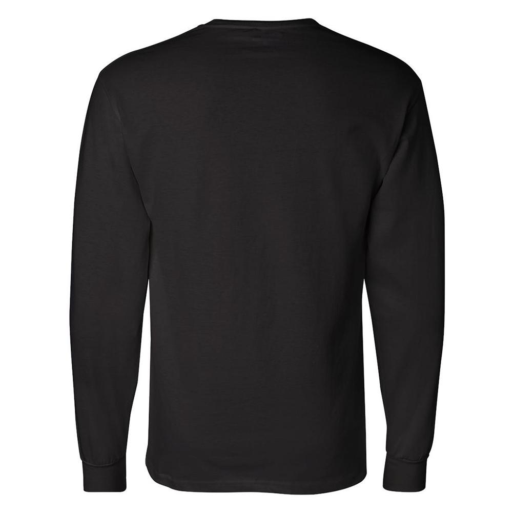 Champion-Men-039-s-CC8C-Long-Sleeve-Tagless-Cotton-Gym-Workout-T-Shirt thumbnail 3