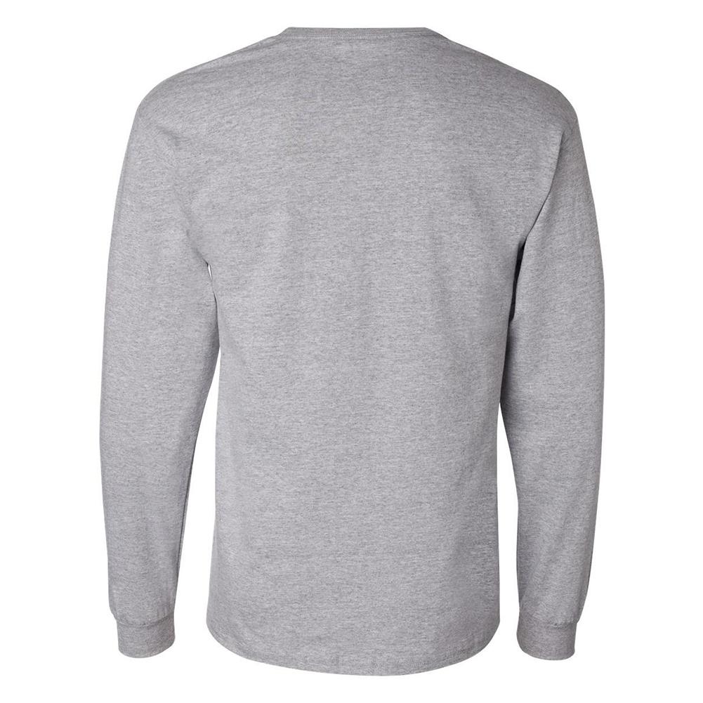 Champion-Men-039-s-CC8C-Long-Sleeve-Tagless-Cotton-Gym-Workout-T-Shirt thumbnail 6