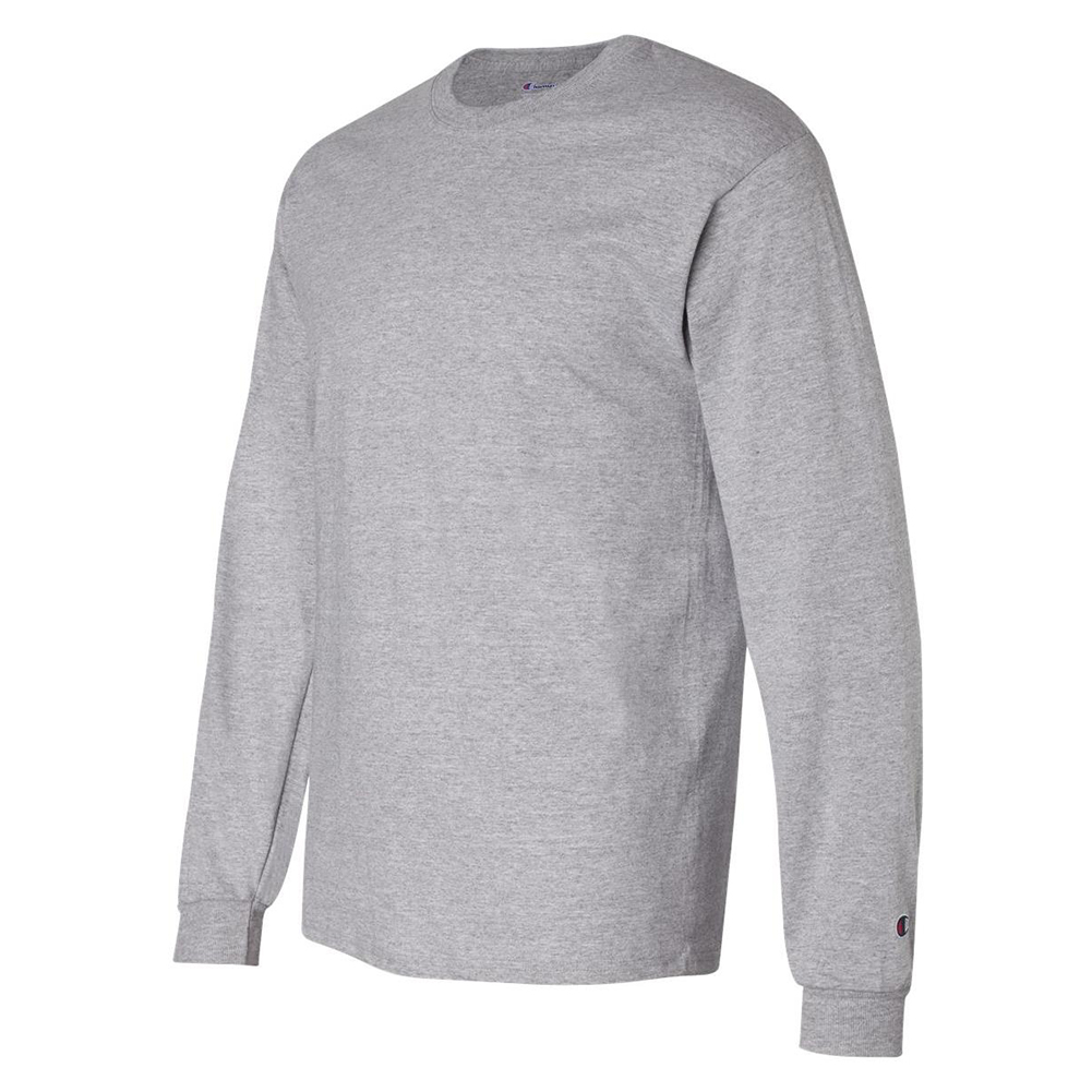 Champion-Men-039-s-CC8C-Long-Sleeve-Tagless-Cotton-Gym-Workout-T-Shirt thumbnail 7