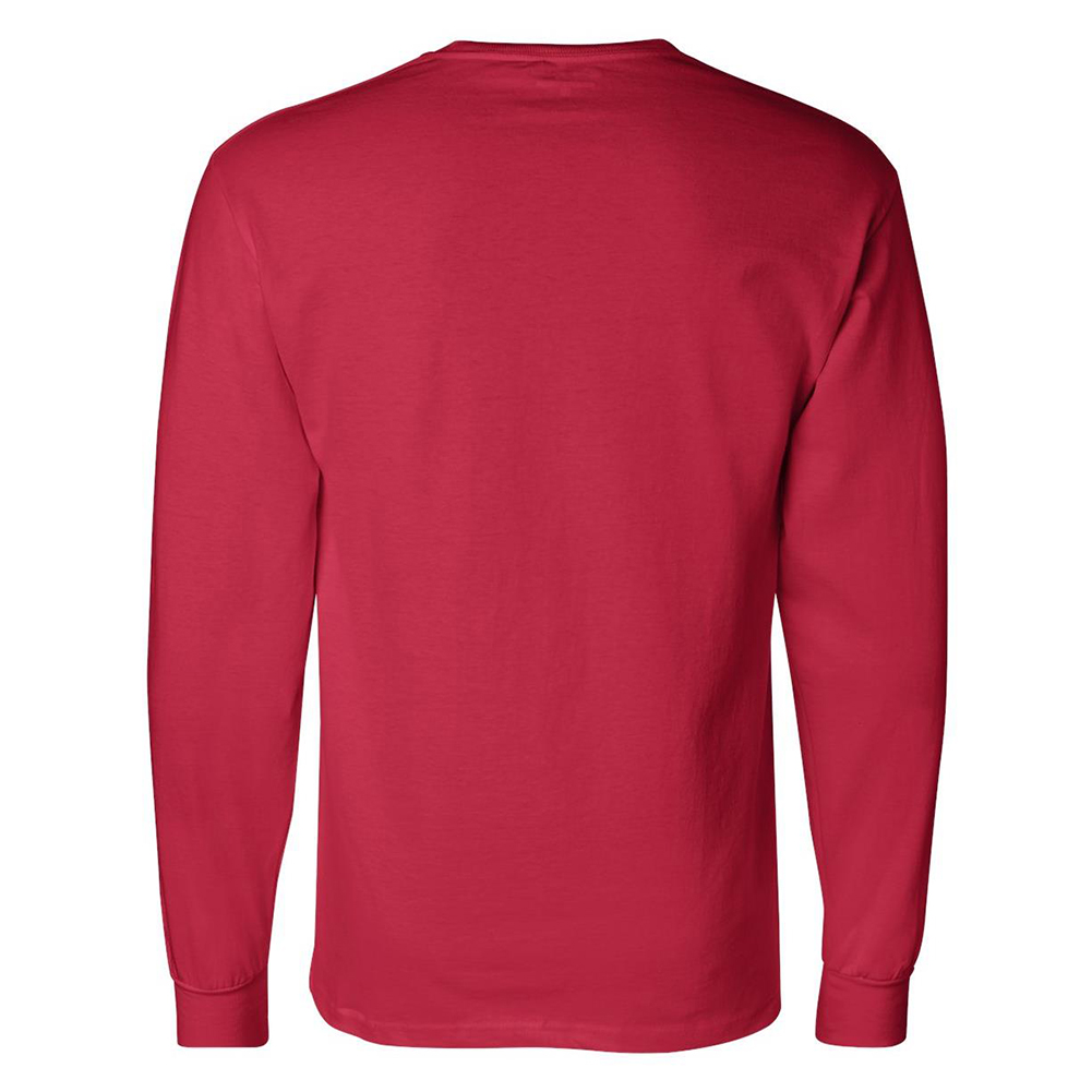 Champion-Men-039-s-CC8C-Long-Sleeve-Tagless-Cotton-Gym-Workout-T-Shirt thumbnail 12