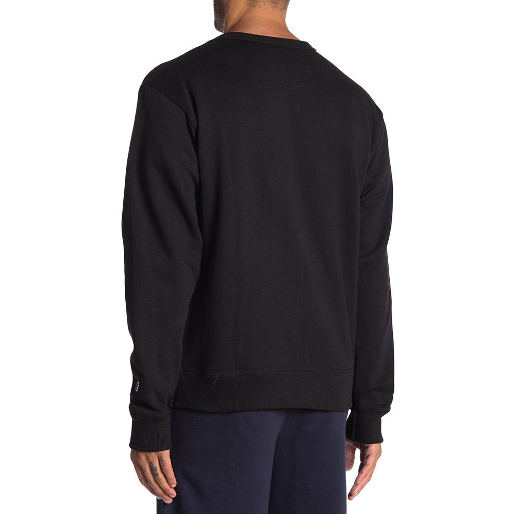 Champion-Men-039-s-GF88H-Y07973-Powerblend-Fleece-Vertical-Script-Logo-Sweatshirt thumbnail 4