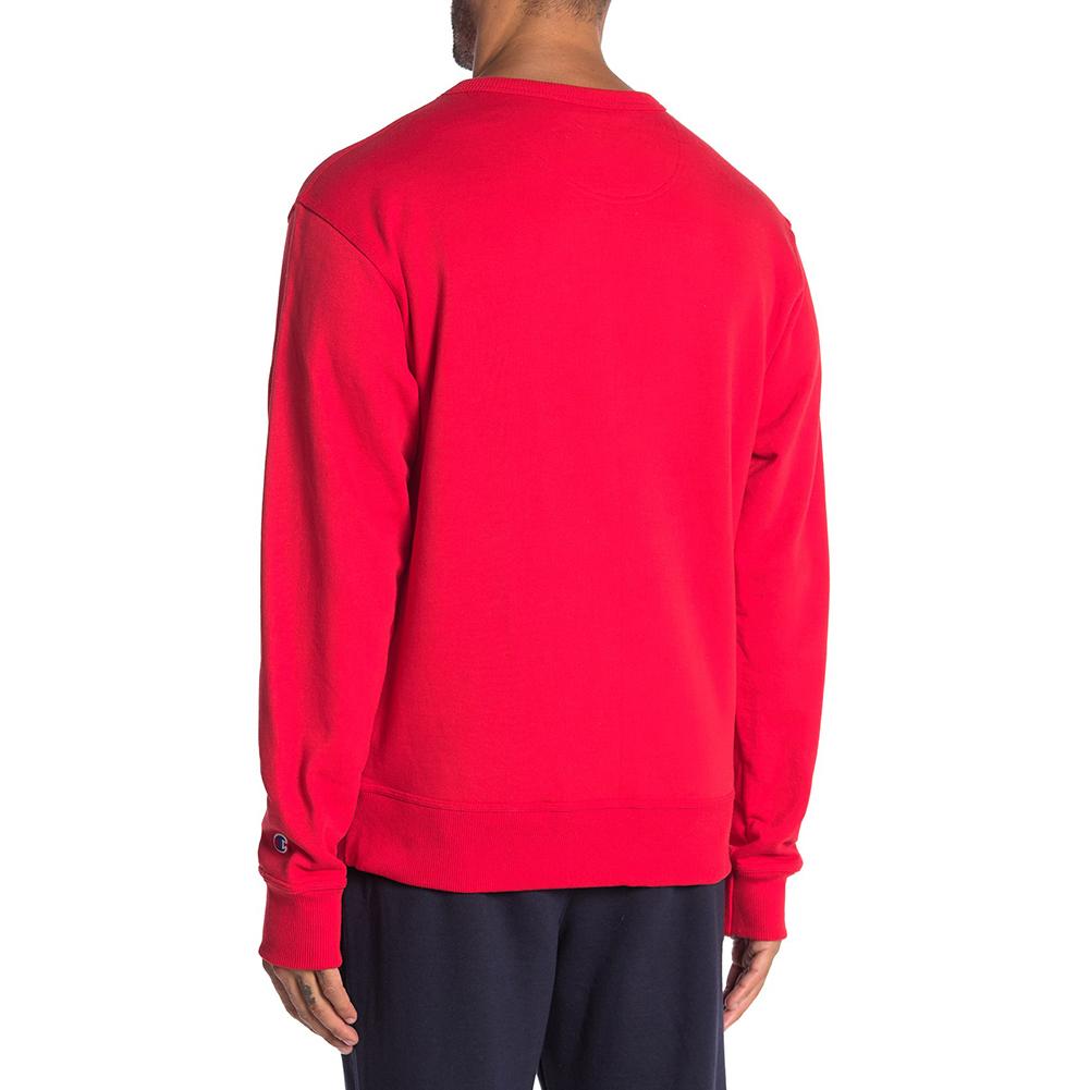 Champion-Men-039-s-GF88H-Y07973-Powerblend-Fleece-Vertical-Script-Logo-Sweatshirt thumbnail 13