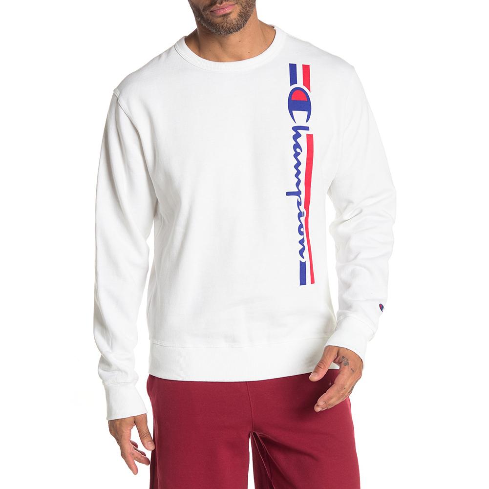 Champion-Men-039-s-GF88H-Y07973-Powerblend-Fleece-Vertical-Script-Logo-Sweatshirt thumbnail 18