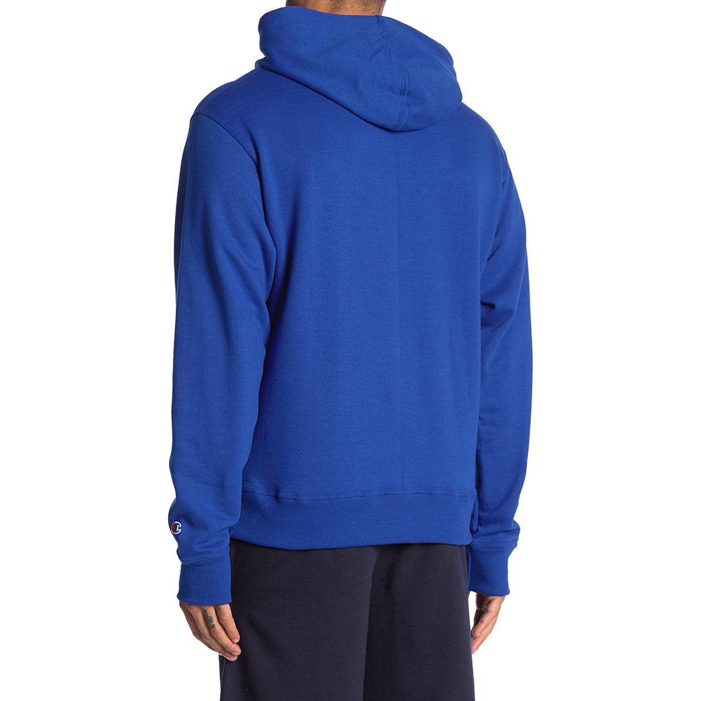 Champion-Men-039-s-GF89H-Y07975-PowerBlend-Fleece-Vertical-Logo-Pullover-Hoodie-XL thumbnail 7