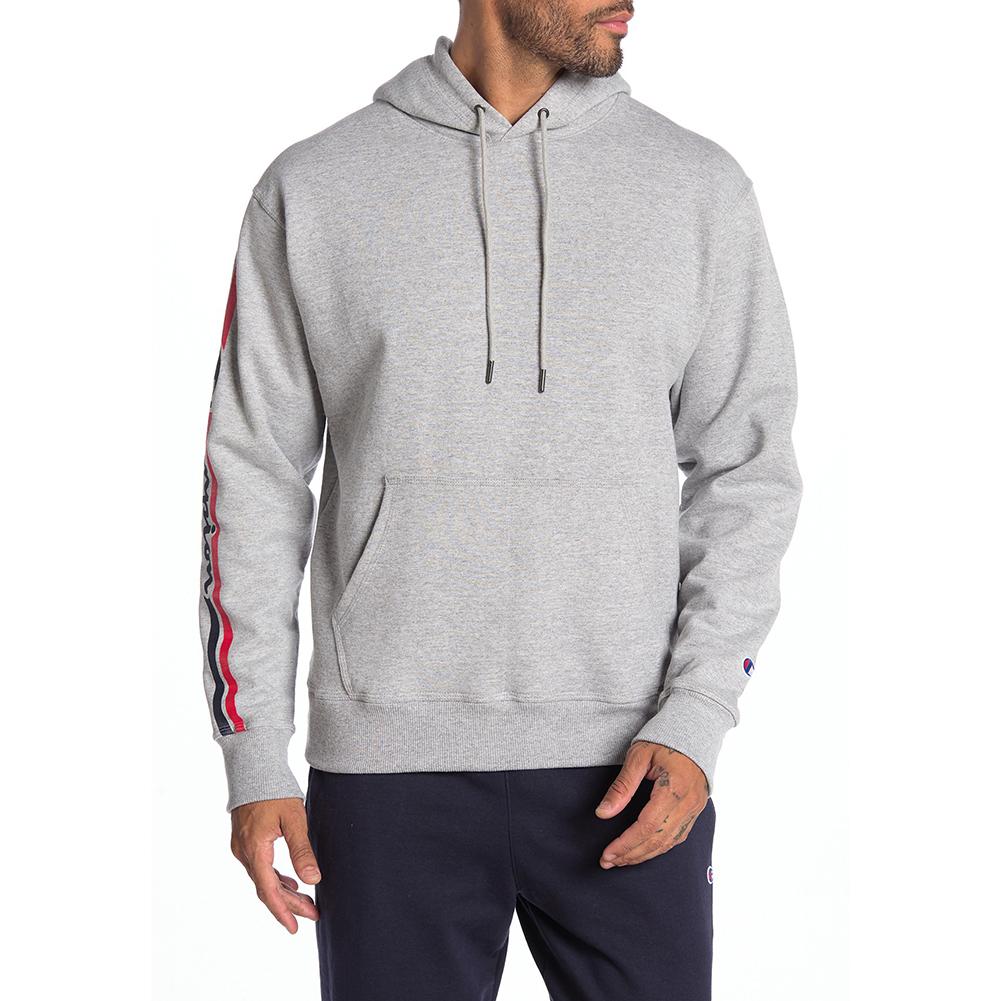 Champion-Men-039-s-GF89H-Y07975-PowerBlend-Fleece-Vertical-Logo-Pullover-Hoodie-XL thumbnail 3