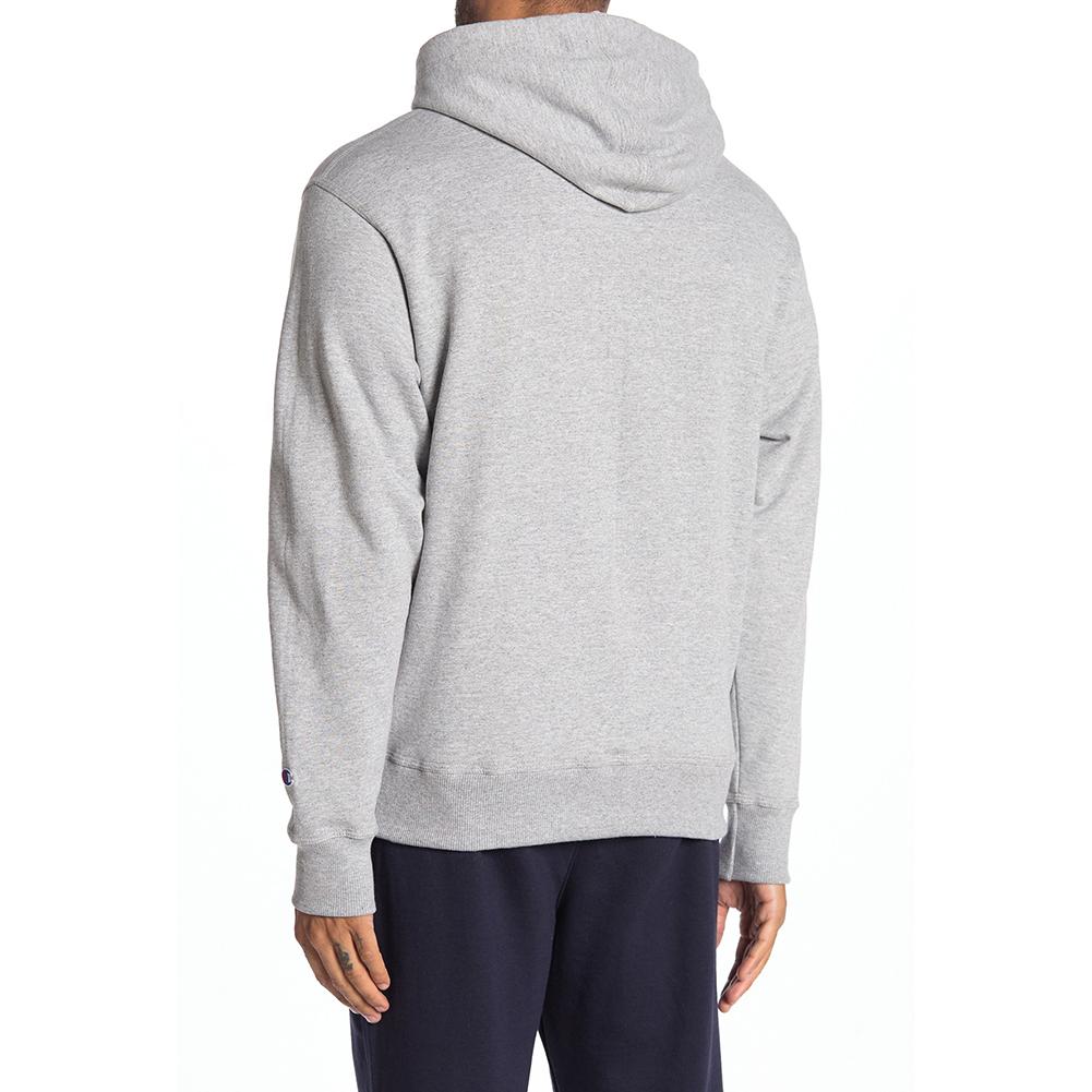 Champion-Men-039-s-GF89H-Y07975-PowerBlend-Fleece-Vertical-Logo-Pullover-Hoodie-XL thumbnail 4