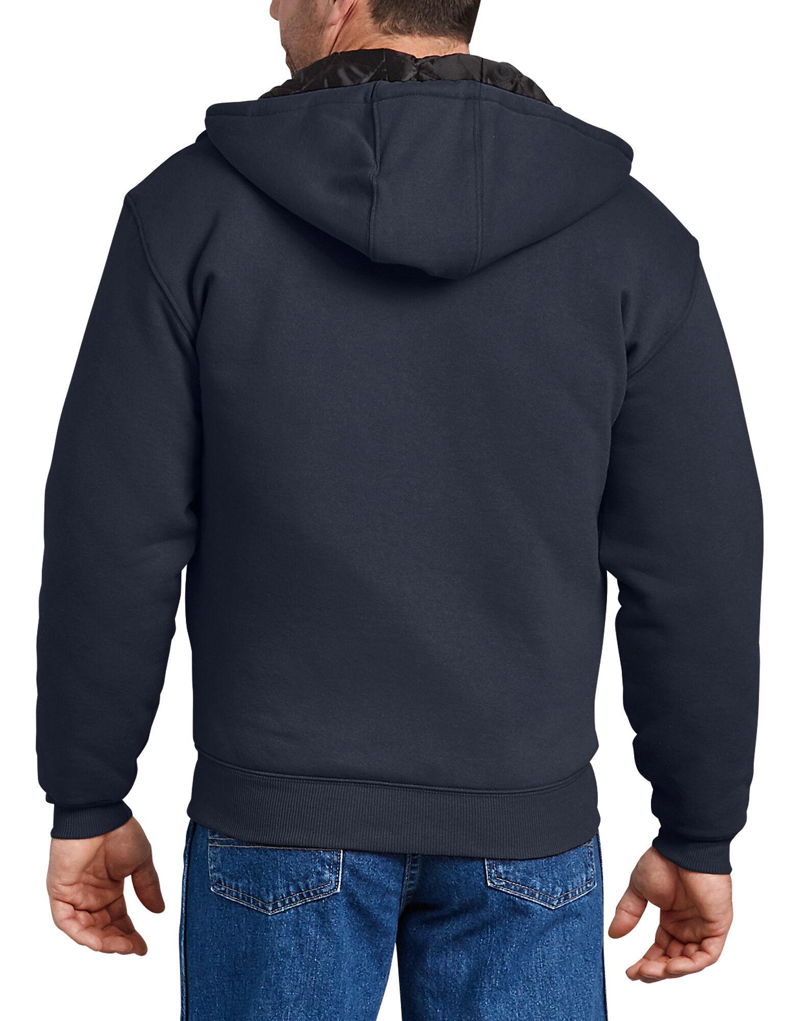 Dickies-Men-039-s-TW394-Heavyweight-Quilted-Fleece-Zip-Up-Hoodie thumbnail 9