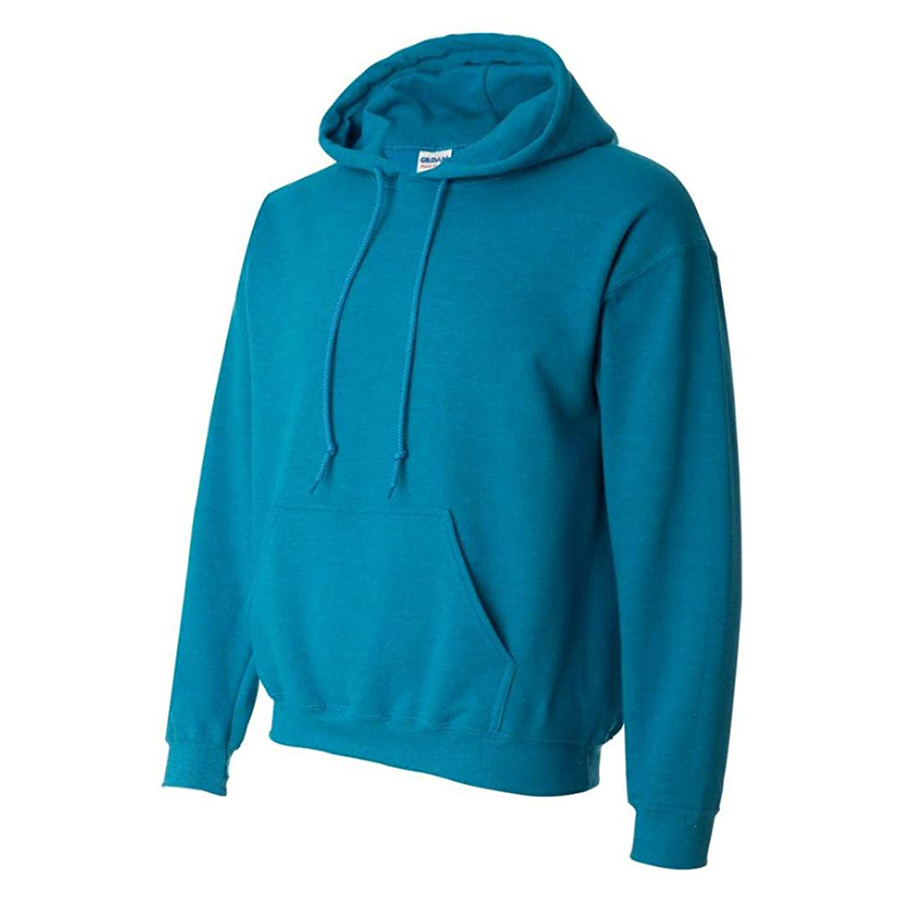 Gildan-Men-039-s-Long-Sleeve-Heavy-Blend-Front-Pocket-Pullover-Hoodie thumbnail 4