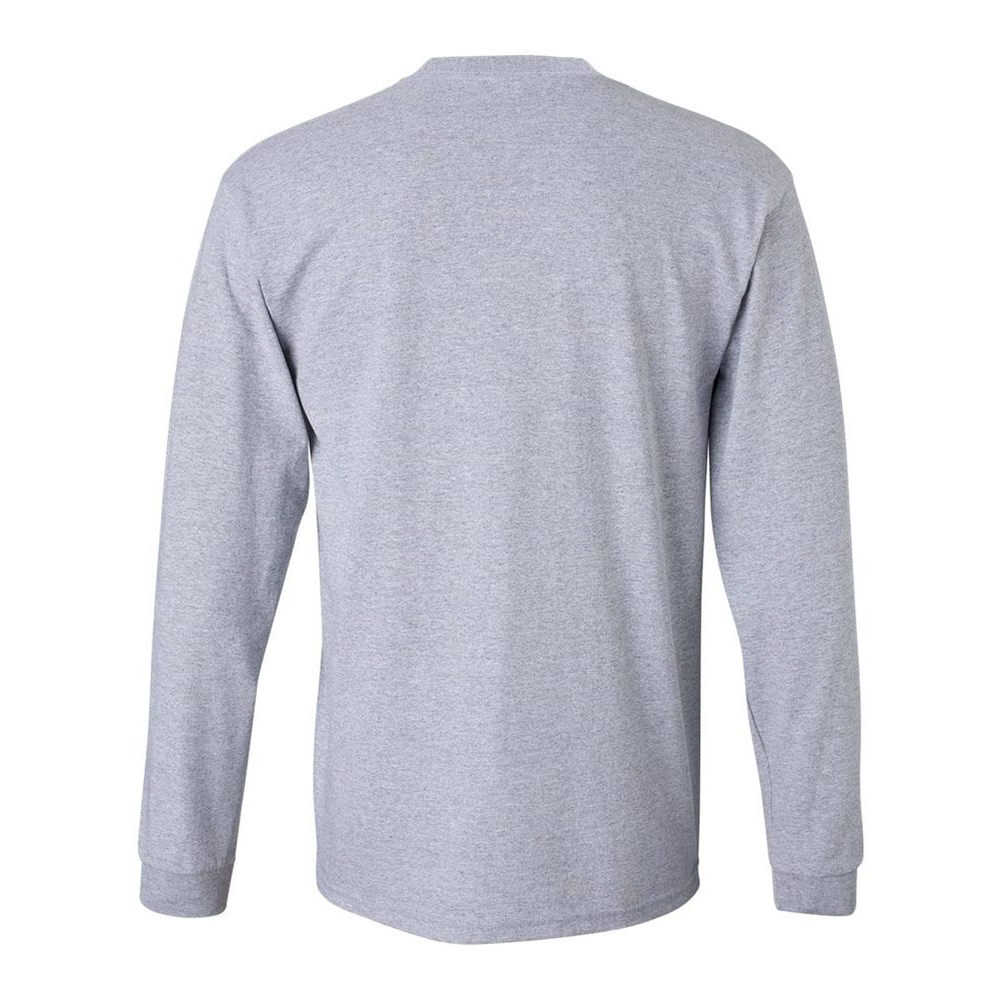 Gildan-Men-039-s-2400-Long-Sleeve-Ultra-Cotton-Crew-Neck-T-Shirt thumbnail 3