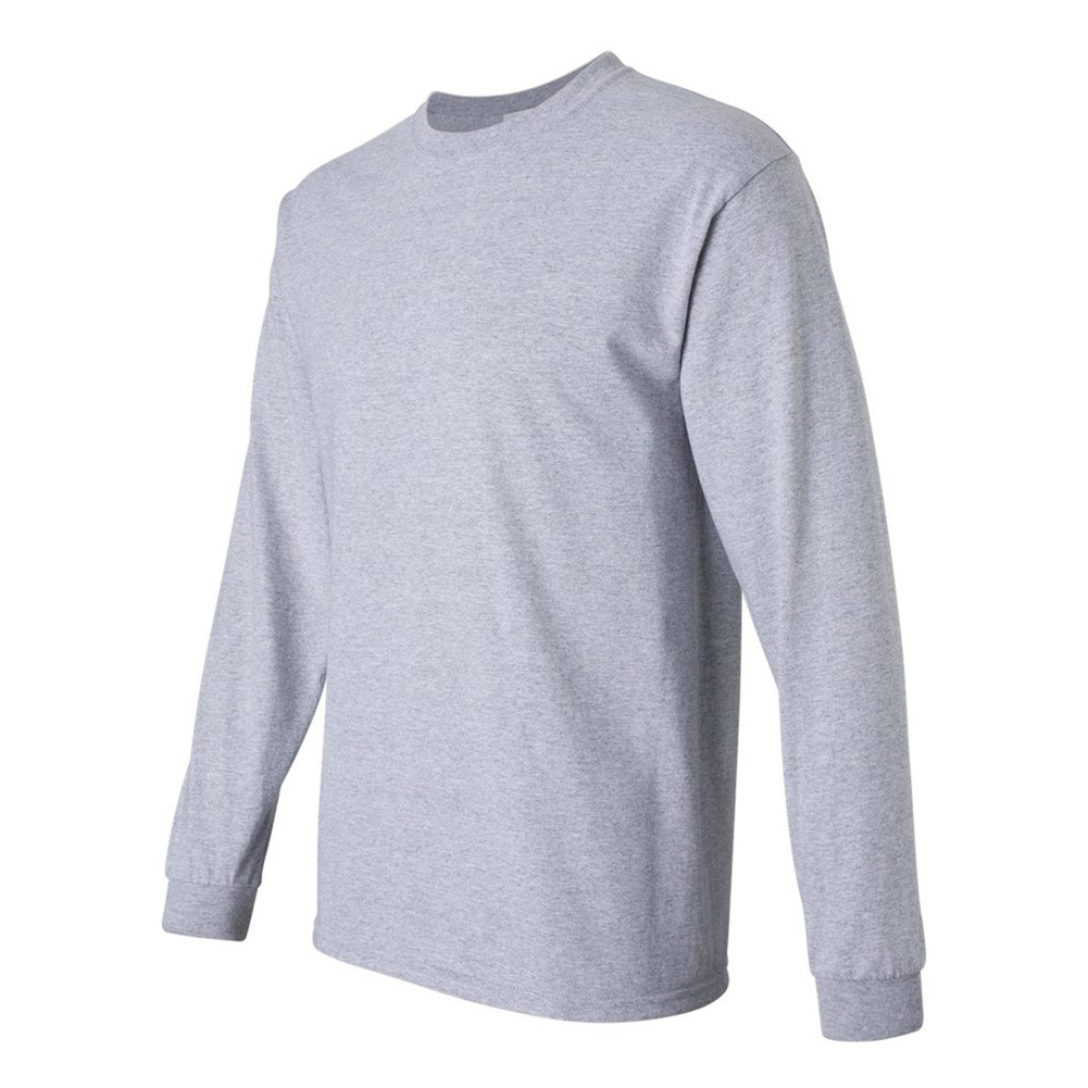 Gildan-Men-039-s-2400-Long-Sleeve-Ultra-Cotton-Crew-Neck-T-Shirt thumbnail 4