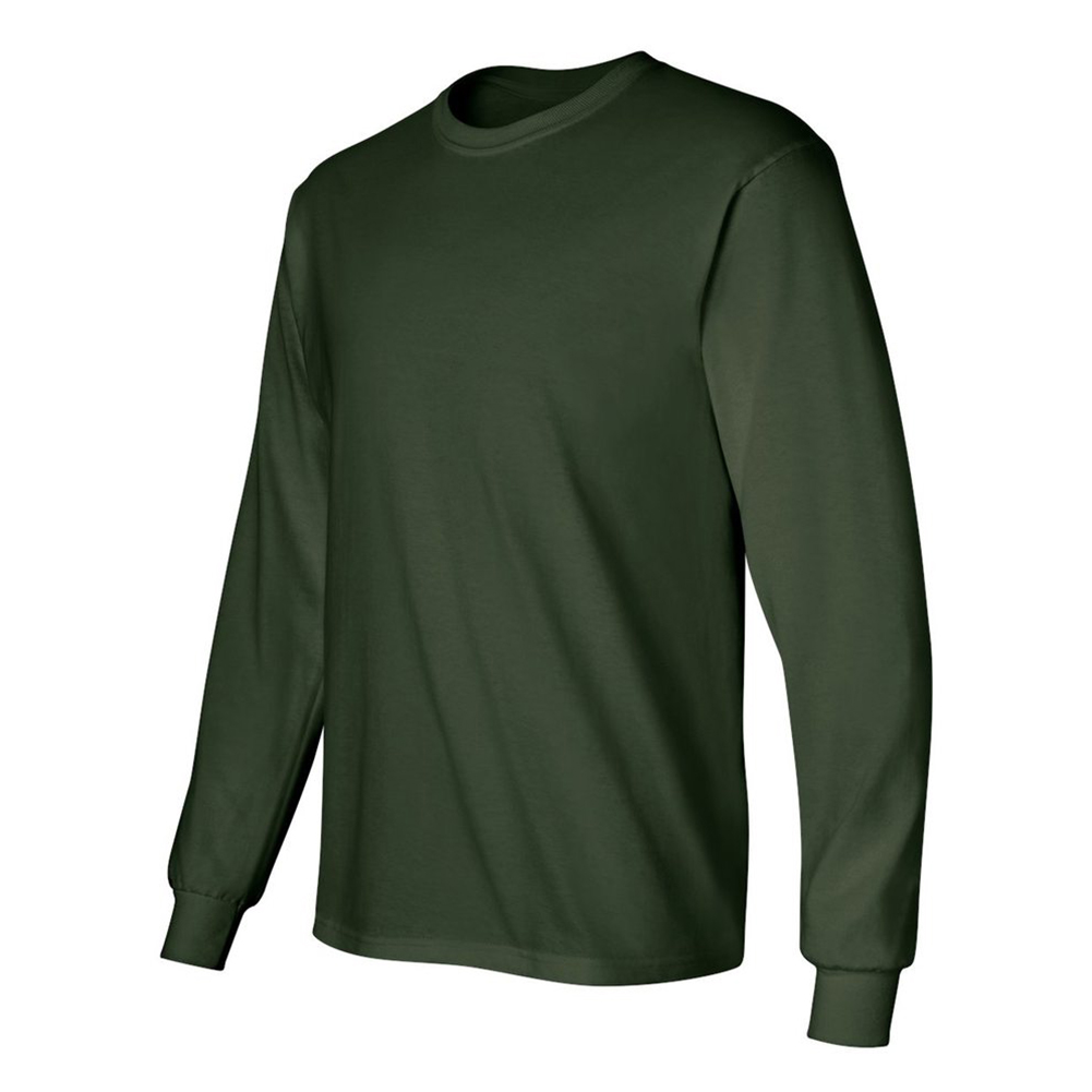 Gildan-Men-039-s-2400-Long-Sleeve-Ultra-Cotton-Crew-Neck-T-Shirt thumbnail 16