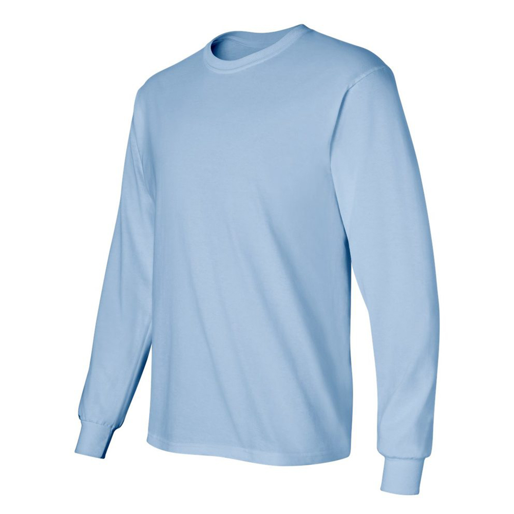 Gildan-Men-039-s-2400-Long-Sleeve-Ultra-Cotton-Crew-Neck-T-Shirt thumbnail 25