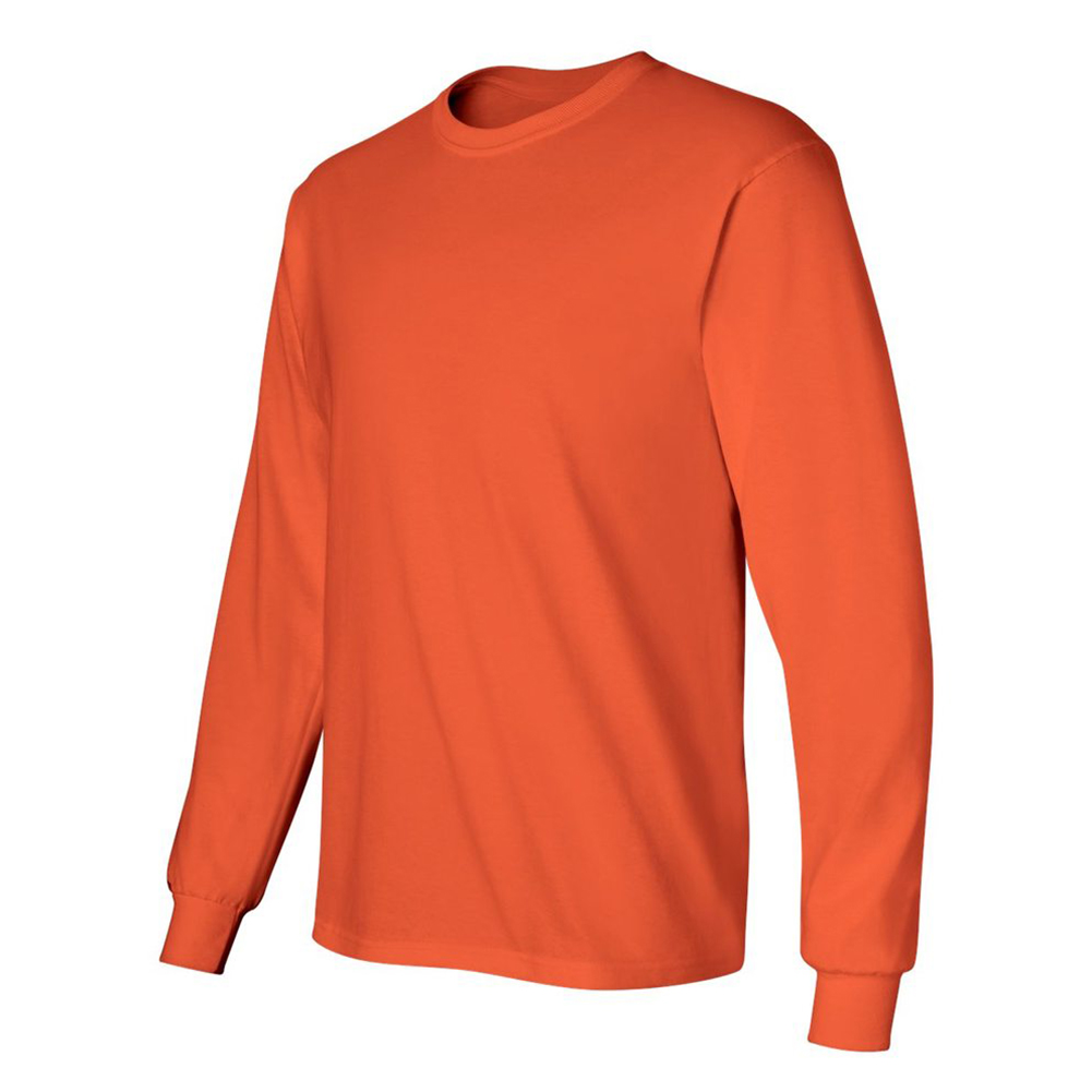 Gildan-Men-039-s-2400-Long-Sleeve-Ultra-Cotton-Crew-Neck-T-Shirt thumbnail 34