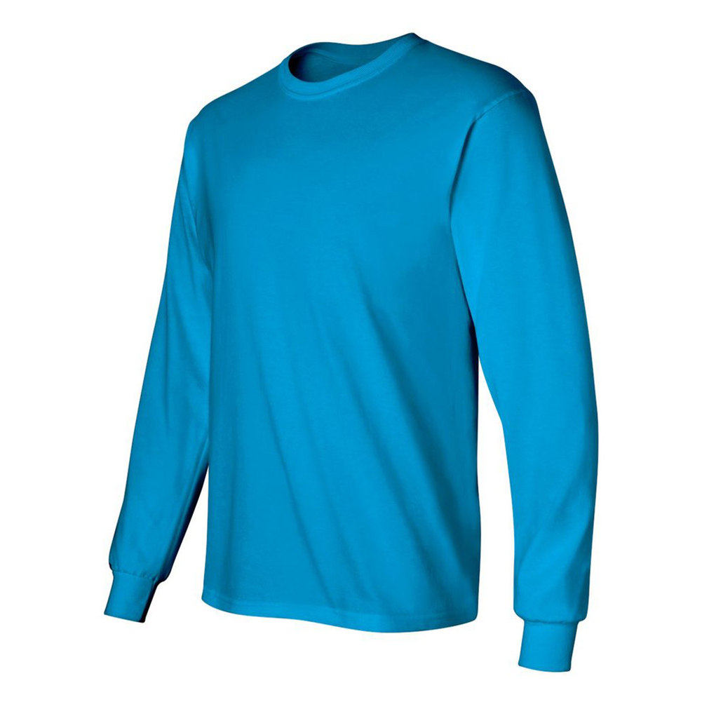 Gildan-Men-039-s-2400-Long-Sleeve-Ultra-Cotton-Crew-Neck-T-Shirt thumbnail 43