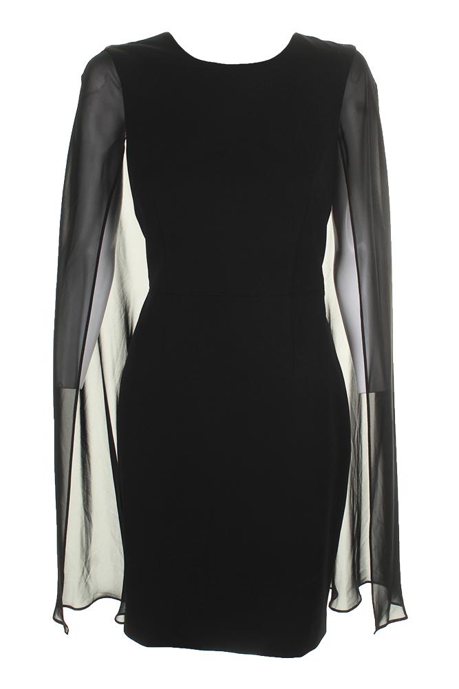 5c1108f9c8fa Calvin Klein Womens White Cut-Out Sheath Wear to Work Dress 8 BHFO ...