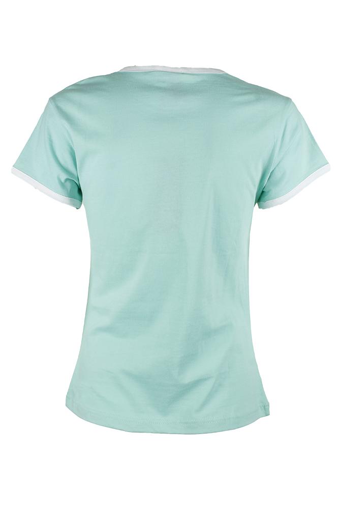Adidas-Ladies-Short-Sleeve-Classic-Logo-Graphic-Essential-T-Shirt thumbnail 3