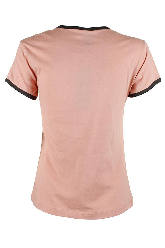 Adidas-Ladies-Short-Sleeve-Classic-Logo-Graphic-Essential-T-Shirt thumbnail 9