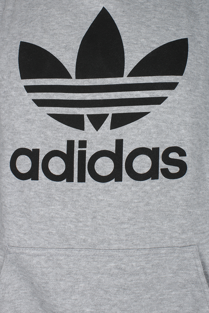 Adidas-Men-039-s-Trefoil-Logo-Graphic-Pouch-Pocket-Pullover-Hoodie thumbnail 9