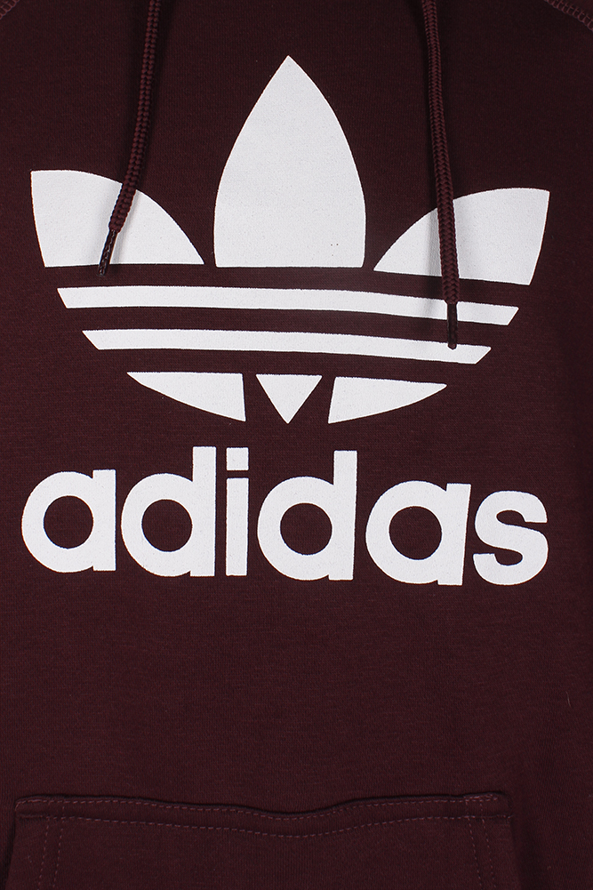 Adidas-Men-039-s-Trefoil-Logo-Graphic-Pouch-Pocket-Pullover-Hoodie thumbnail 12
