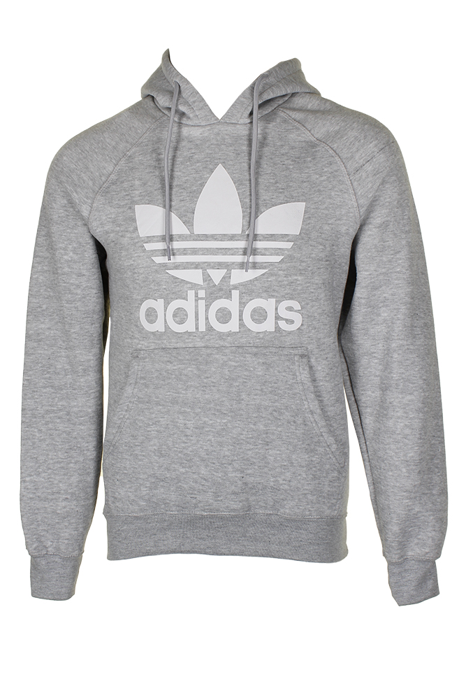 Adidas-Men-039-s-Trefoil-Logo-Graphic-Pouch-Pocket-Pullover-Hoodie thumbnail 11