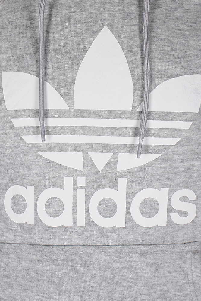 Adidas-Men-039-s-Trefoil-Logo-Graphic-Pouch-Pocket-Pullover-Hoodie thumbnail 15