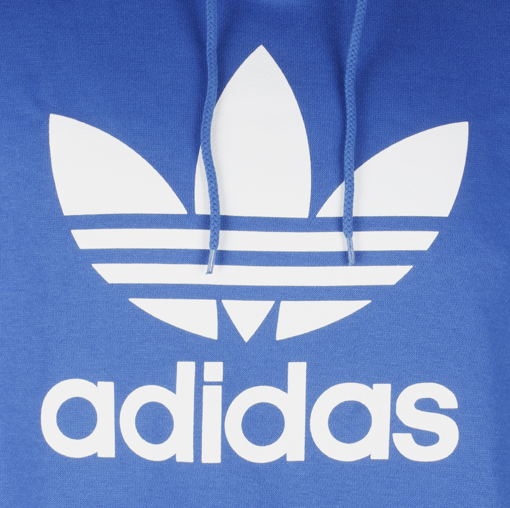 Adidas-Men-039-s-Trefoil-Logo-Graphic-Pouch-Pocket-Pullover-Hoodie thumbnail 21