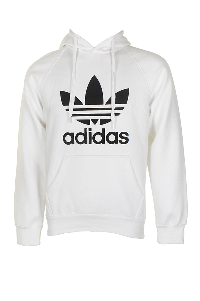 Adidas-Men-039-s-Trefoil-Logo-Graphic-Pouch-Pocket-Pullover-Hoodie thumbnail 20