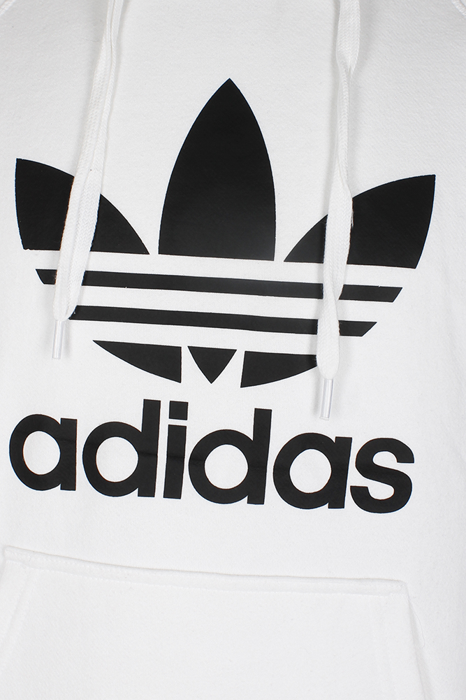 Adidas-Men-039-s-Trefoil-Logo-Graphic-Pouch-Pocket-Pullover-Hoodie thumbnail 24