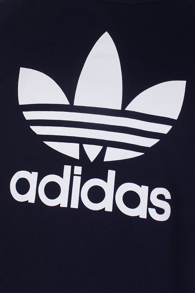 Adidas-Men-039-s-Trefoil-Logo-Graphic-Raglan-Sleeve-Sweatshirt thumbnail 13