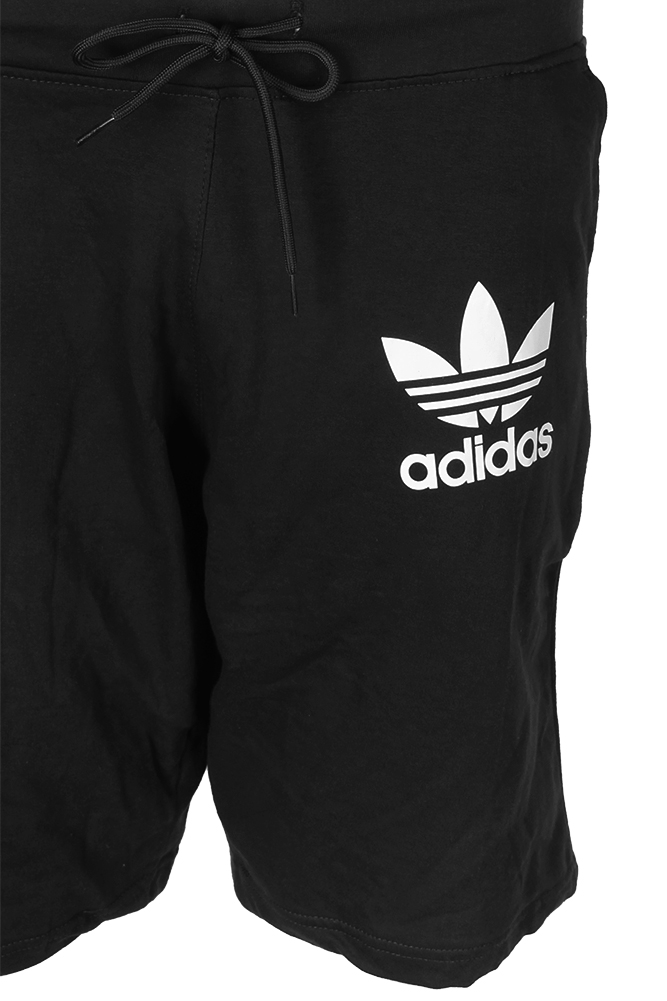 Adidas-Men-039-s-Trefoil-Logo-Active-Wear-Gym-Athletic-Workout-Fleece-Shorts thumbnail 4