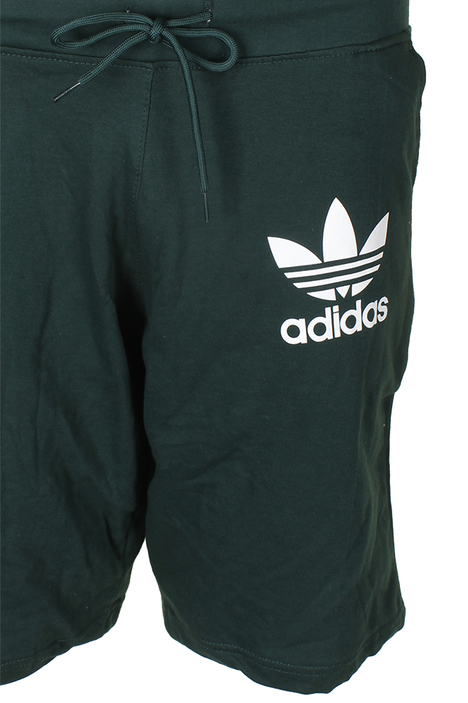 Adidas-Men-039-s-Trefoil-Logo-Active-Wear-Gym-Athletic-Workout-Fleece-Shorts thumbnail 7