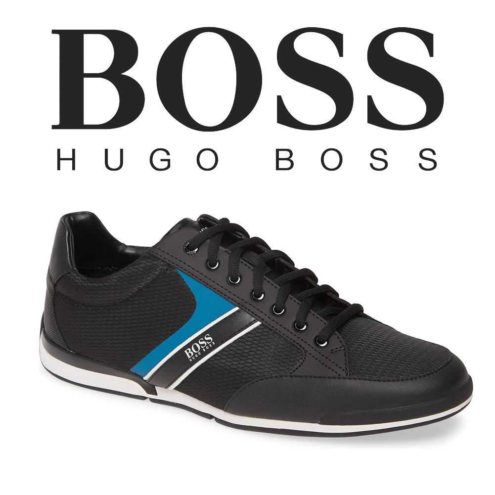 Hugo Boss Mens Saturn Profile Low Top Sneaker