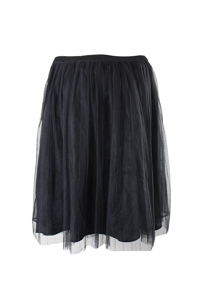 cec4eae8ea City Chic Plus Size Black Pleated A-Line Skirt 16W MSRP: $89 ...