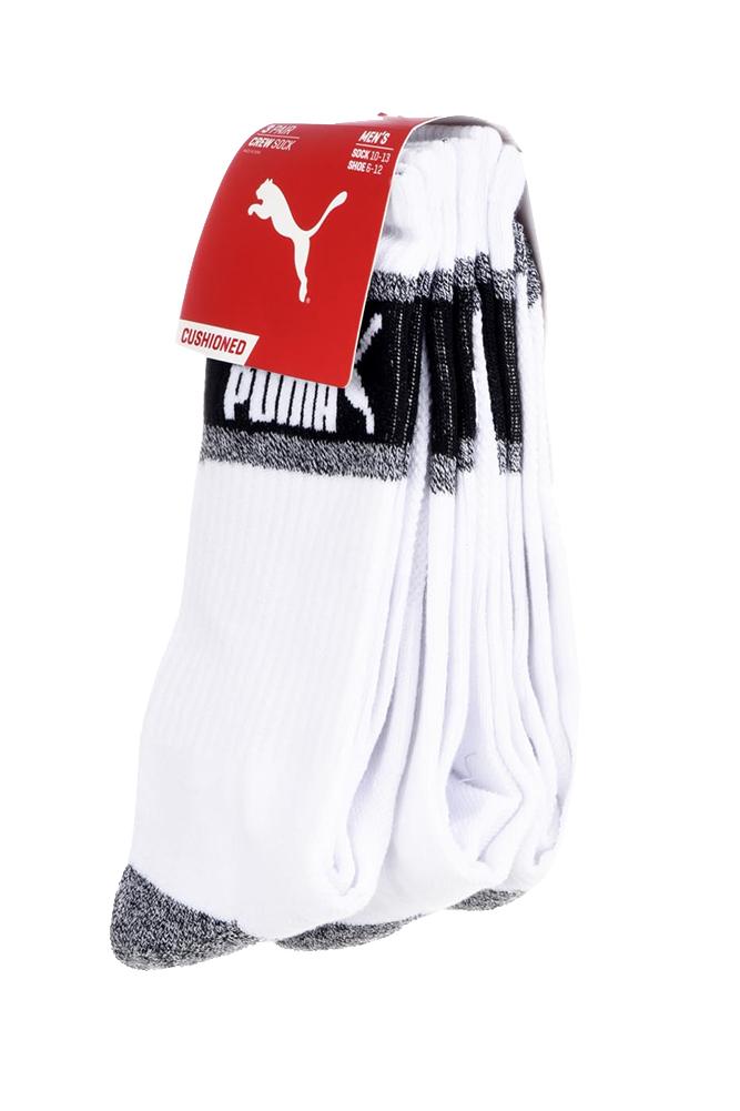 Puma-Men-039-s-3-Pack-1-2-Terry-Crew-Socks thumbnail 5