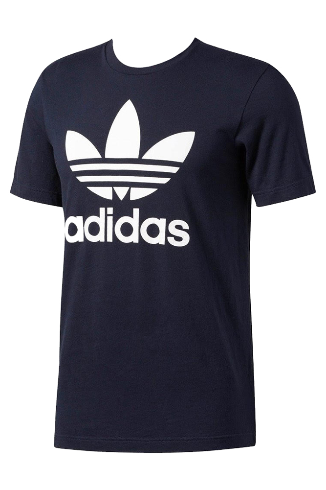 Adidas-Men-039-s-Short-Sleeve-Trefoil-Logo-Graphic-T-Shirt thumbnail 11
