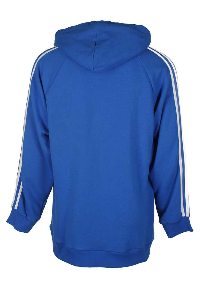 Adidas-Men-039-s-Trefoil-Logo-3-Stripe-Front-Pocket-Full-Zip-Hoodie thumbnail 6