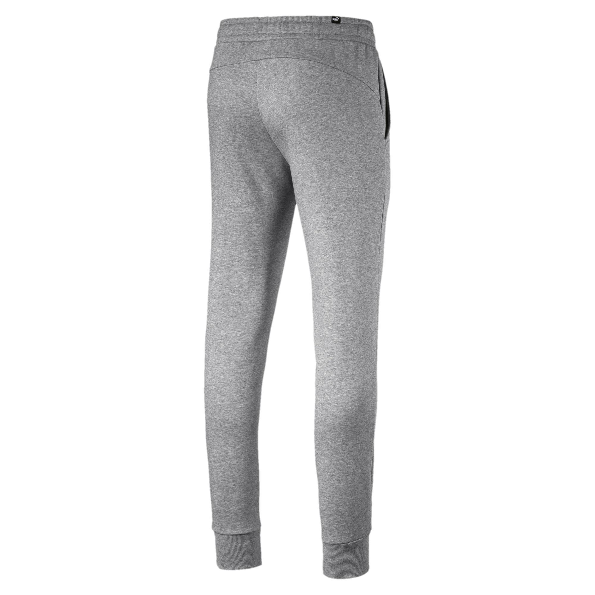 Puma-Essentials-Men-039-s-852428-Slim-Fit-Fleece-Knit-Jogger-Pants thumbnail 3