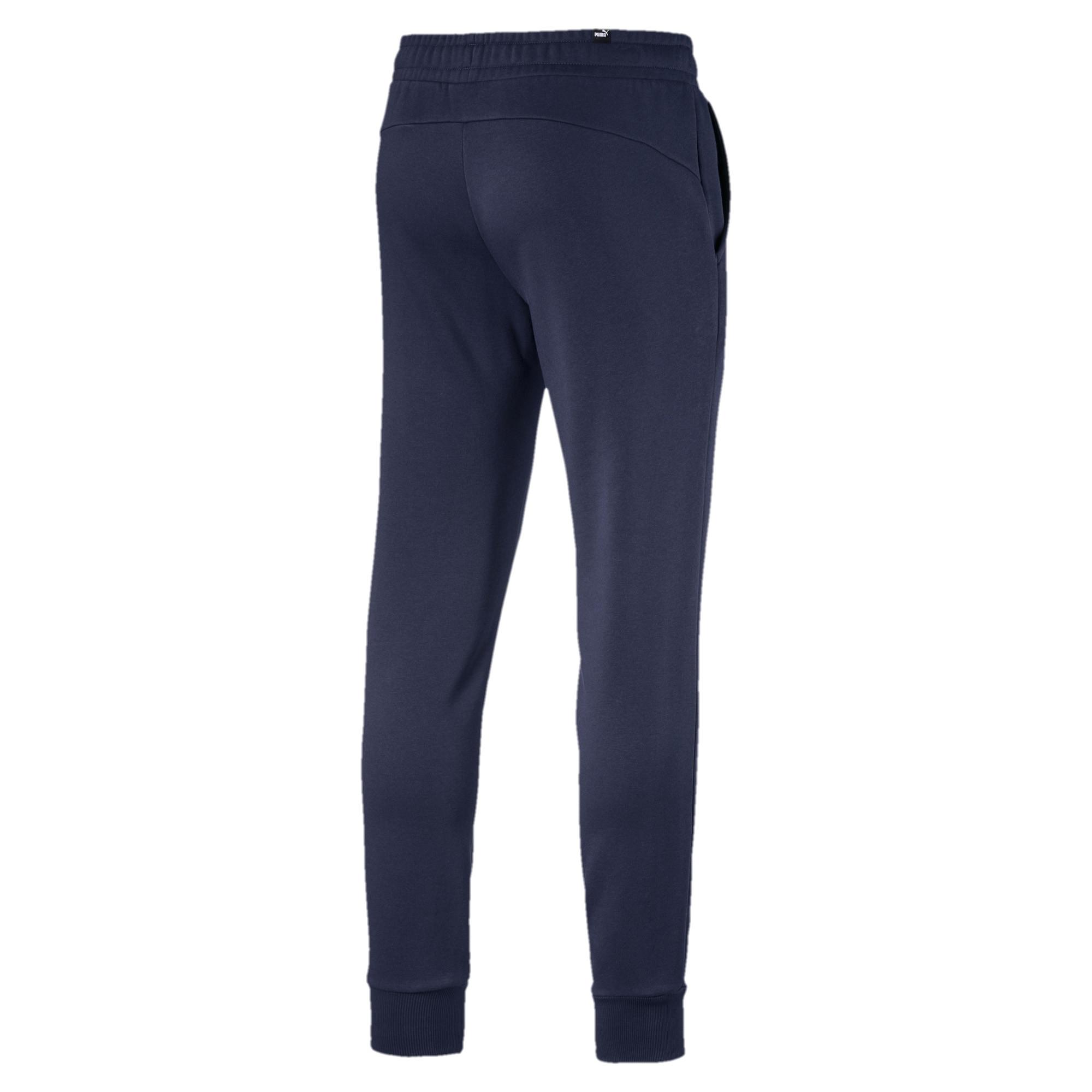 Puma-Essentials-Men-039-s-852428-Slim-Fit-Fleece-Knit-Jogger-Pants thumbnail 5