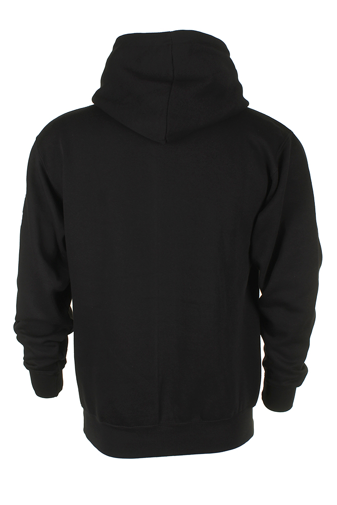 Adidas-Men-039-s-Original-Trefoil-Street-Graphic-Front-Pocket-Active-Pullover-Hoodie thumbnail 3