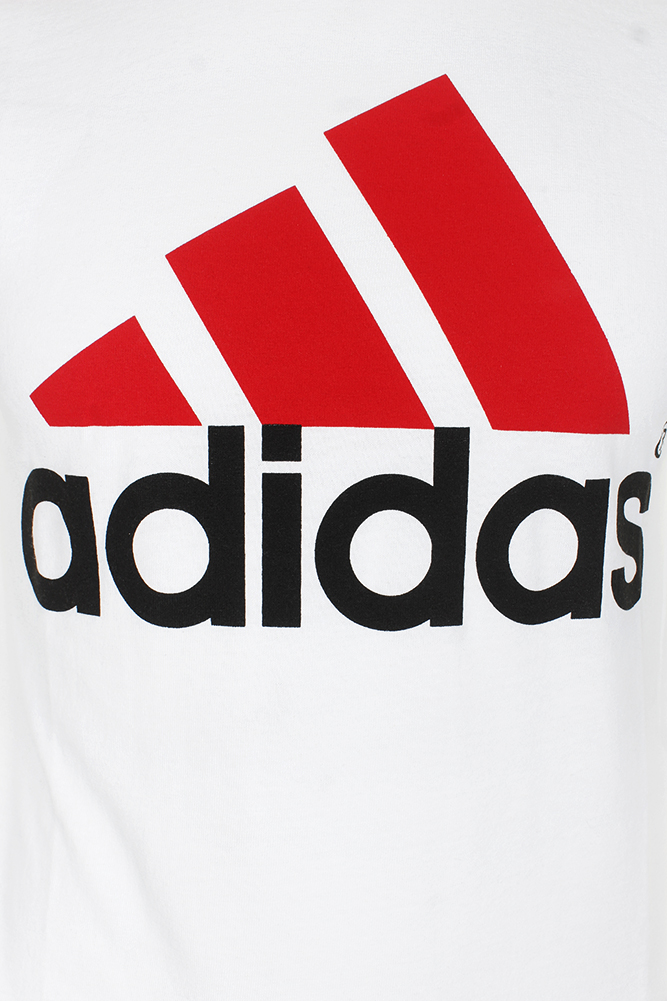 Adidas-Men-039-s-Active-Wear-Short-Sleeve-Essential-Logo-Graphic-Crew-Neck-T-Shirt thumbnail 7