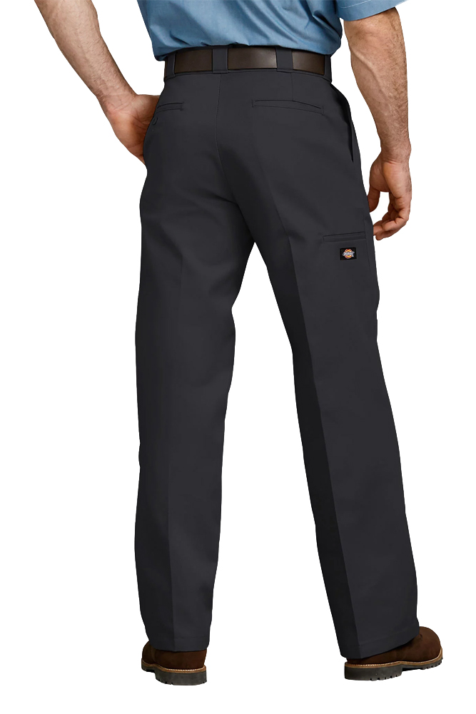 Dickies-Men-039-s-85283-Loose-Fit-Double-Knee-Cell-Phone-Pocket-Work-Pants thumbnail 3