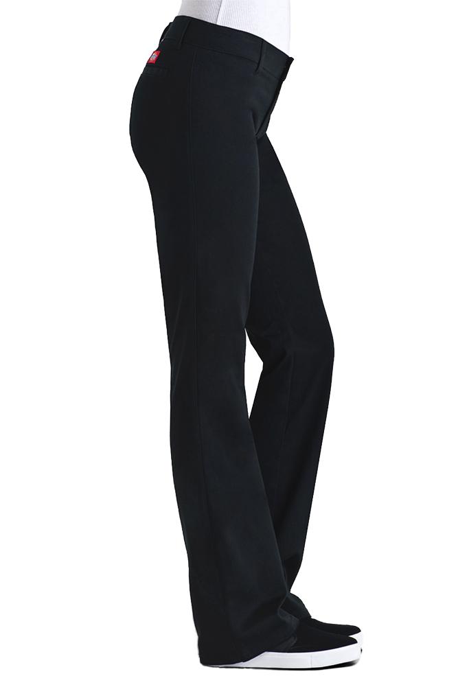 Dickies-Girl-Juniors-4-Pocket-Skinny-Leg-Pants thumbnail 3