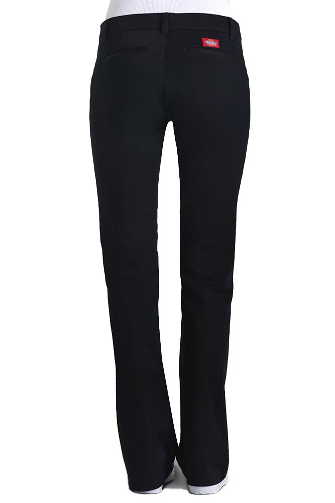 Dickies-Girl-Juniors-4-Pocket-Skinny-Leg-Pants thumbnail 4