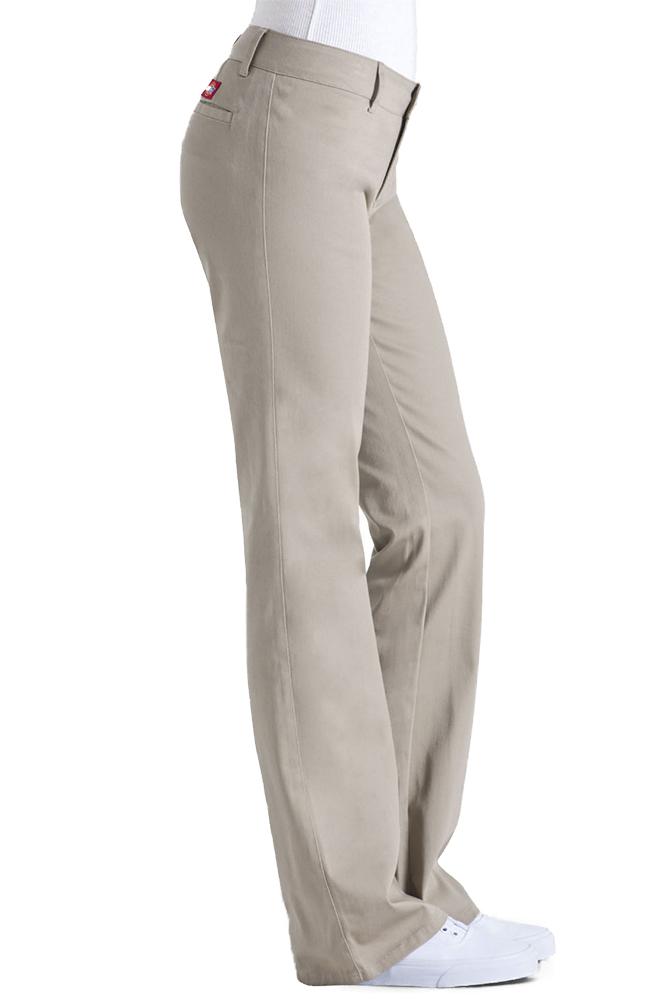 Dickies-Girl-Juniors-4-Pocket-Skinny-Leg-Pants thumbnail 6