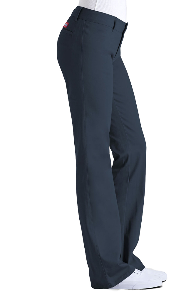 Dickies-Girl-Juniors-4-Pocket-Skinny-Leg-Pants thumbnail 9