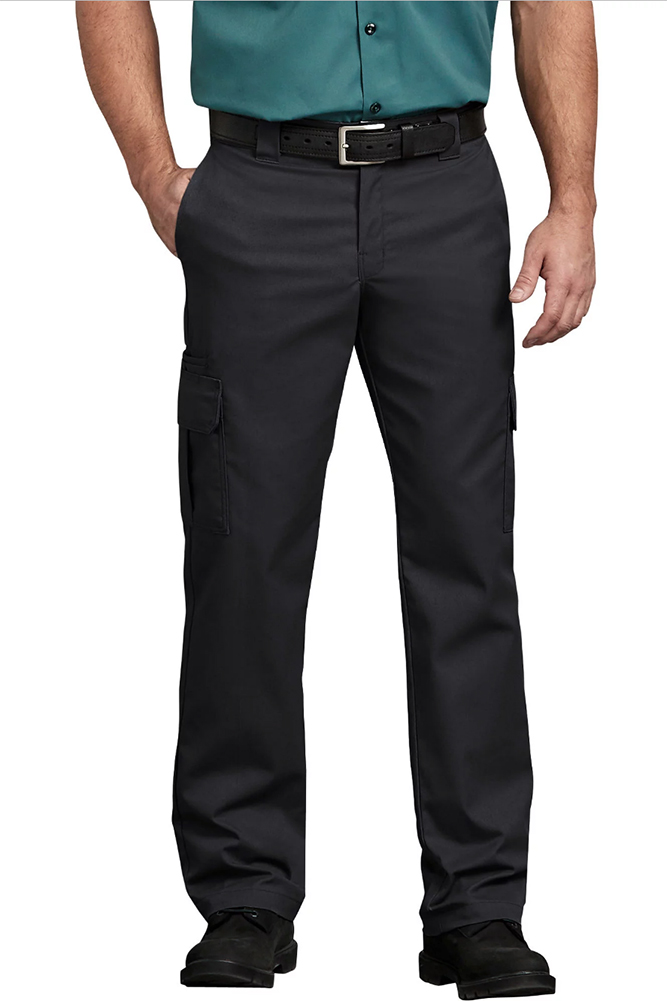 Dickies-Men-039-s-Flex-Regular-Fit-Straight-Leg-Work-Cargo-Pants thumbnail 3
