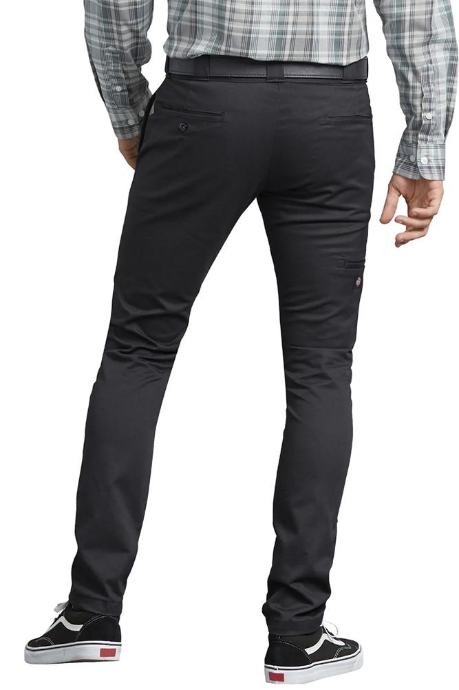 Dickies-Men-039-s-Flex-Skinny-Straight-Fit-Work-Pants thumbnail 4